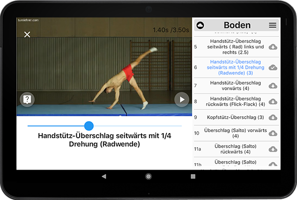 Turnlehrer Sportabitur Player